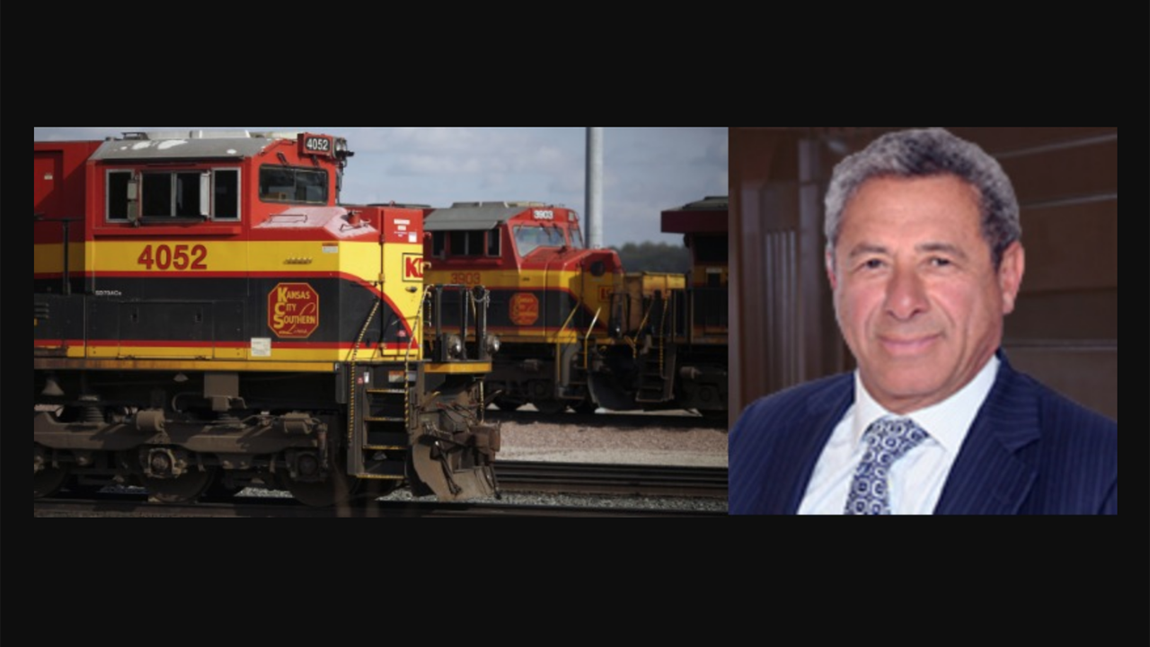 Sameh Fahmy, KCS EVP Precision Scheduled Railroading, will leave the Class I railroad at the end of 2021.