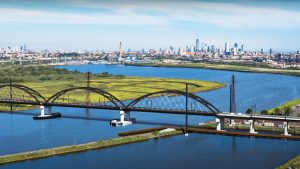 Portal North—part of the massive Gateway Program, which will eventually double rail capacity between Newark, N.J., and New York—will replace the 110-year-old Portal Bridge, a mechanical-trouble-plagued swing bridge built by the Pennsylvania Railroad in 1910 as part of its New York Improvements project.