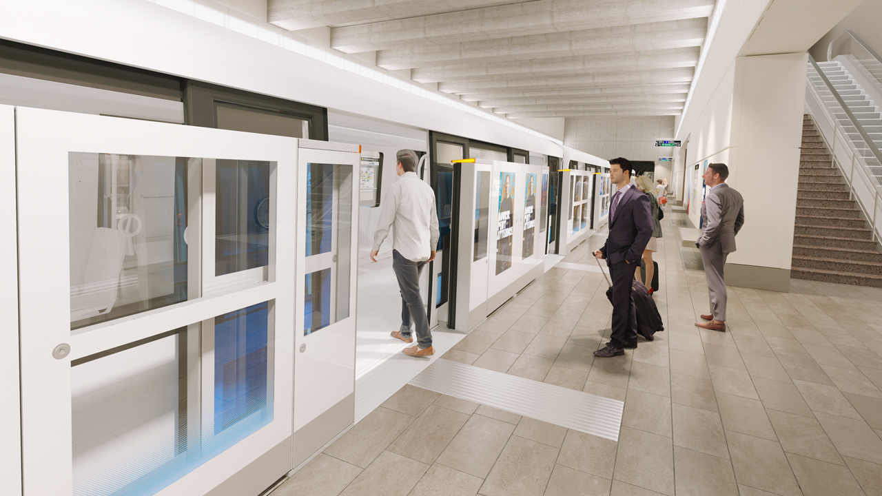 Wabtec has secured a US$69.63 million order for platform gates to support the Marseille NEOMMA Metro Automation Project in France.