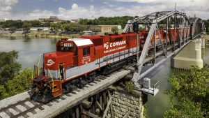 R.J. Corman Railroad Company/Memphis Line (RJCM) is the Railway Age 2021 Short Line Railroad of the Year.